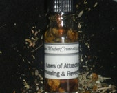 Uncrossing Unhexing Reverse Oil Wicca Pagan Ceremonies Rituals
