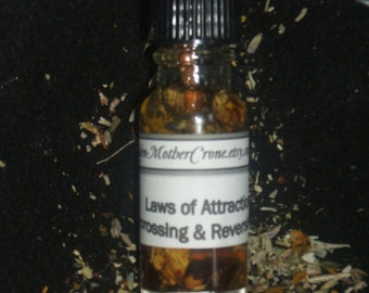 Uncross Oil Wicca Pagan Spirituality Religion Ceremonies Hoodoo Metaphysical MaidenMotherCrone