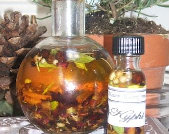 Kyphi Oil Wicca Pagan Spirituality Religion Ceremonies Hoodoo Metaphysical MaidenMotherCrone