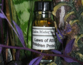 Children Oil Wicca Pagan Spirituality Religion Ceremonies Hoodoo Metaphysical MaidenMotherCrone