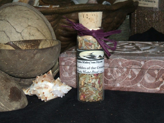 Hecate Herbal Blend Wicca Pagan Ceremonies Rituals Spirituality