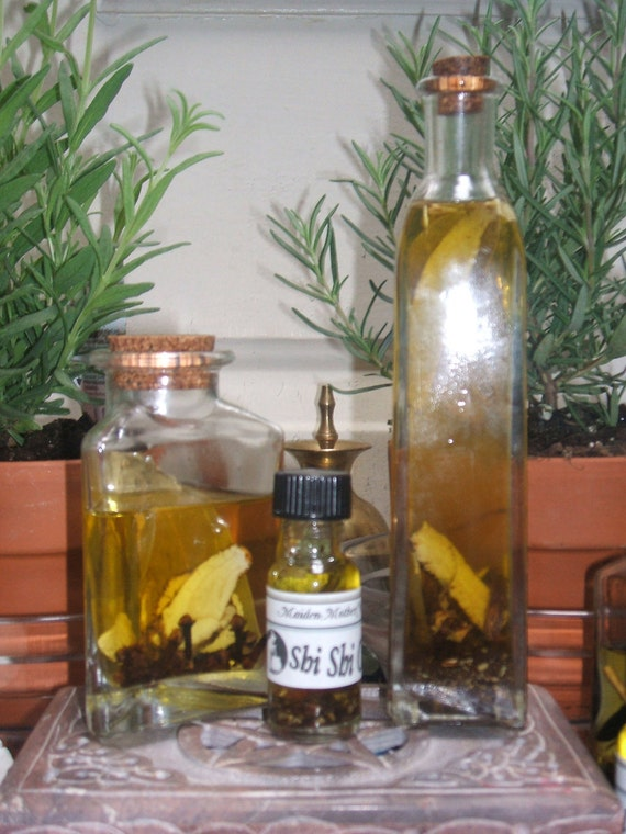 Shi Shi Oil Wicca Pagan Spirituality Religion Ceremonies Hoodoo Metaphysical MaidenMotherCrone