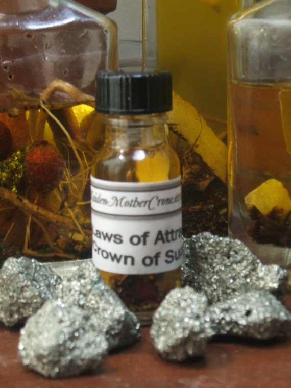 Crown Oil Wicca Pagan Spirituality Religion Ceremonies Hoodoo Metaphysical MaidenMotherCrone