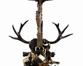 Jimmy Page Full Size Smashed Guitar Sculpture