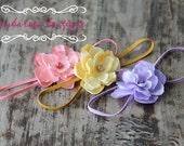 baby starter set, small flower headbands, petite starter set, newborn photography props, small flower headbands, gift set