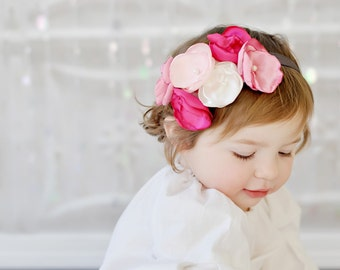 Baby Headbands, Pink headband, girls headband, birthday girl headband, baby headband, valentine headband