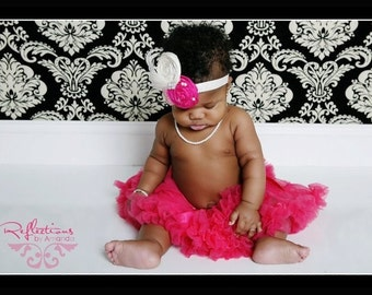 Pink baby Headbands, Newborn photography props hair accessories, Baby headband, Infant headband, Toddler headband, Flower headband