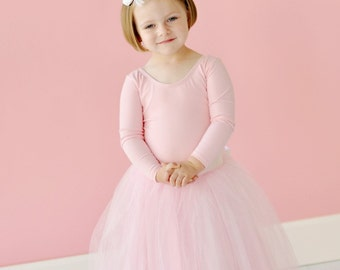 ADORABLE TUTU SKIRT, flower girl dress, pink dress, Vintage pink tulle skirt