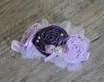 Flower girl hair accessories, baptism hair accessories