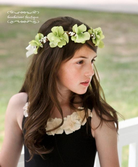Head Wreath Flower Girl Flower Girl Hair Wreath