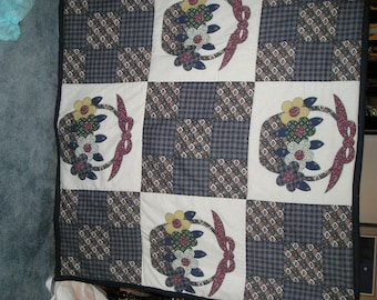 Picnic Basket Beach Blanket, Tote, and Carrying Case