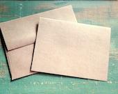 "100 4""x6"" Folded Cards & Envelopes: 4x6 (102x155mm) Blank photo cards, eco-friendly, recycled, kraft or light brown 65lb, 80lb, 100lb, 105lb"