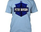 Peter Davison Fifth Doctor, Doctor Who T-Shirt (Mens, Ladies)