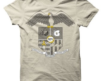 Bilbo Baggins Hobbit Heraldry T-Shirt (Mens, Ladies, Kids)