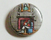 """The Raven 1"""" One inch pinback button"""