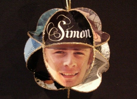 Simon & Garfunkel Album Cover Ornament Made Of Record Jackets