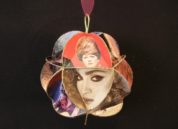 Mother's Day Album Cover Ornament Made Of Record Jackets: Ladies Who Rock