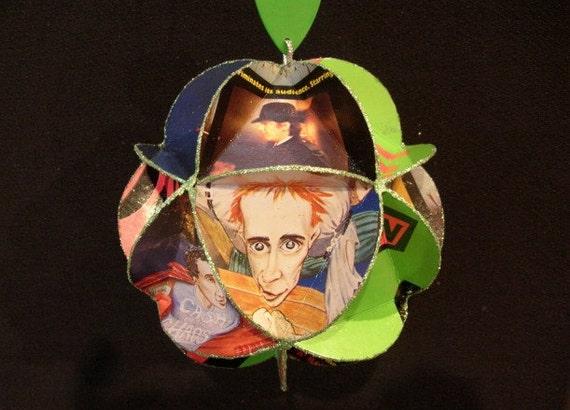 Sex Pistols Album Cover Ornament Made Of Record Jackets: Punk Rock
