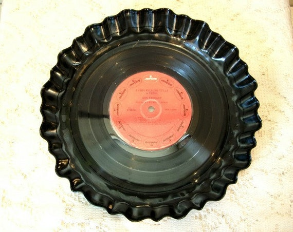 Rod Stewart Record Bowl Serving Platter