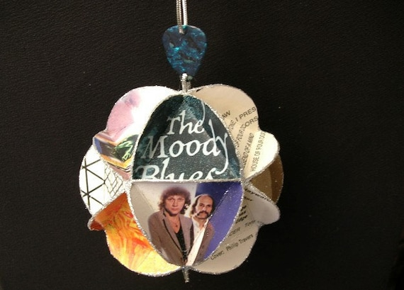 Moody Blues Album Cover Ornament Made Of Record Jackets: Music Recycled