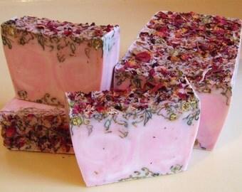 SOAP - 3 lb. Perfect Rose Vegan Handmade Soap Loaf, Wholesale Soap Loaves