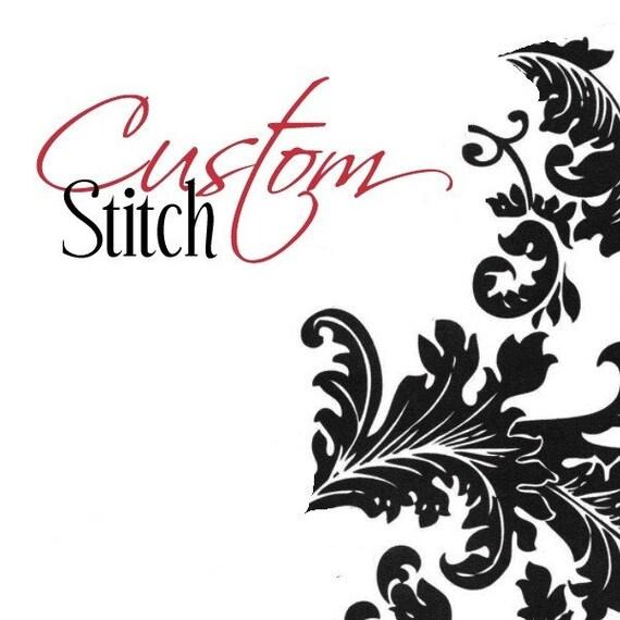Custom Listing for tjmstandish by Stitch To Stitch