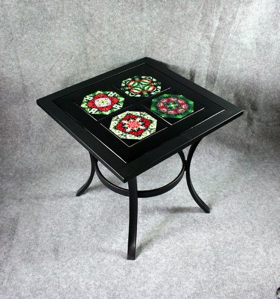 items similar to ceramic tile top patio table outdoor chat