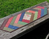 Road to Rivendell Quilted Table Runner - Reversible