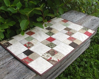 Natures Trail Quilted Table Runner