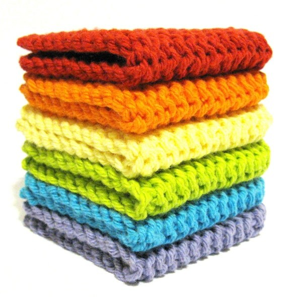 Rainbow Eco-Friendly Dryer Sheets - Set of 6