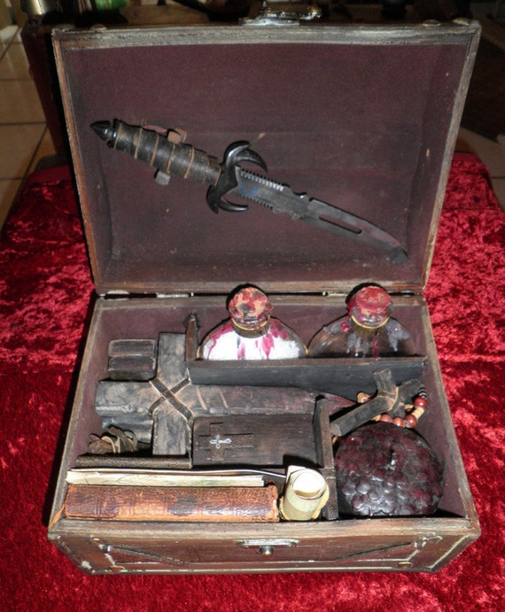 Vampire Killing Kit by CRYSTOBAL Slayer Buffy Twilight True Blood