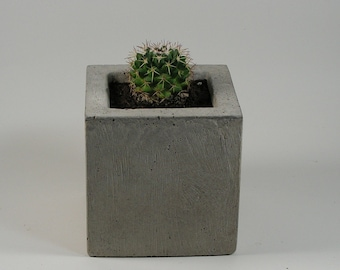 Square Concrete Container