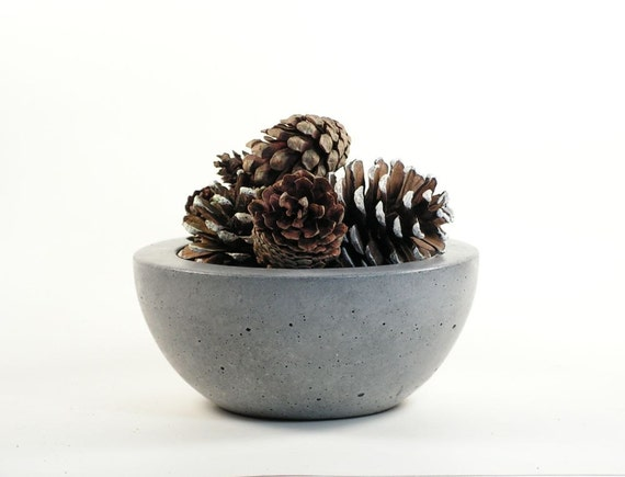 Concrete Candy Bowl - Grey
