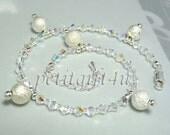A05 Swarovski Crystal Wedding Bridal Anklet Ankle Bracelet