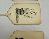 Wedding Favor Tags Assortment 6 Pieces You Choose Your Style