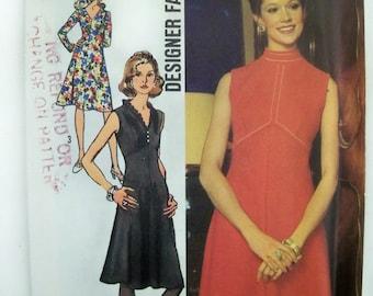 VTG 1972 Simplicity Dress Pattern size 14 unused