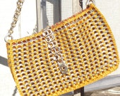 LE POISSON CHANGING SEASONS CAN TAB HANDBAG made from recycled materials