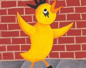 Punk Rock Chicken...(1A)...SUPERSIZED