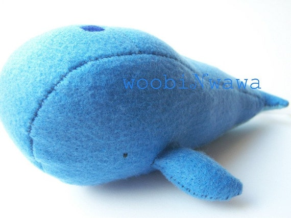 Submarine the Blue Whale- Felt Animals