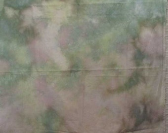 63126 Green and Cream colored 2/3 yard