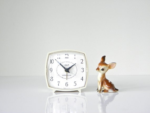 Cute 1960s Westclox Nap Clock