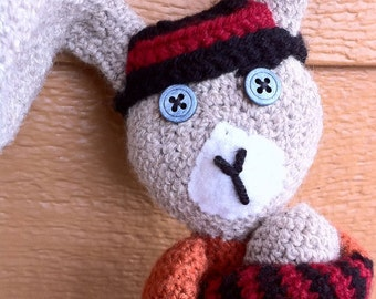 Amigurumi Crochet Bunny, Angry Bunny