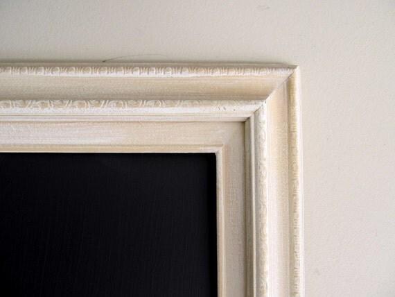 Reserved for SHELLY - LARGE CHALKBOARD Magnetic Wedding Chalk Board Framed Antique Business Organizer Restuarant Menu