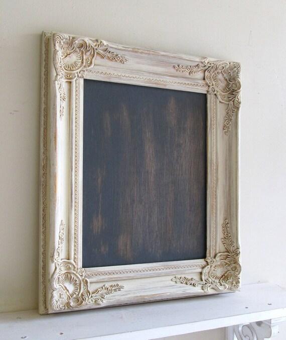 Kitchen Pictures Frames: Items Similar To RUSTIC Wedding Chalkboard Sign Vintage