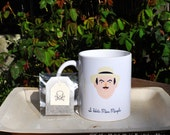 Hercule Poirot Mug and its Poisoned tea