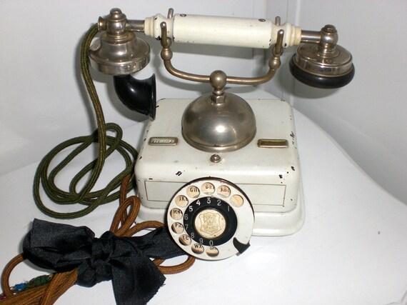 vintage phone,antique phone, 1940's, Danish