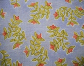 SALE Periwinkle and Floral Cloth Table Napkins