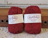 Hollyberry Sport Cotton Modal Yarn, 2 skeins