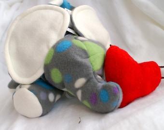 custom order - elephant  plush -  any color