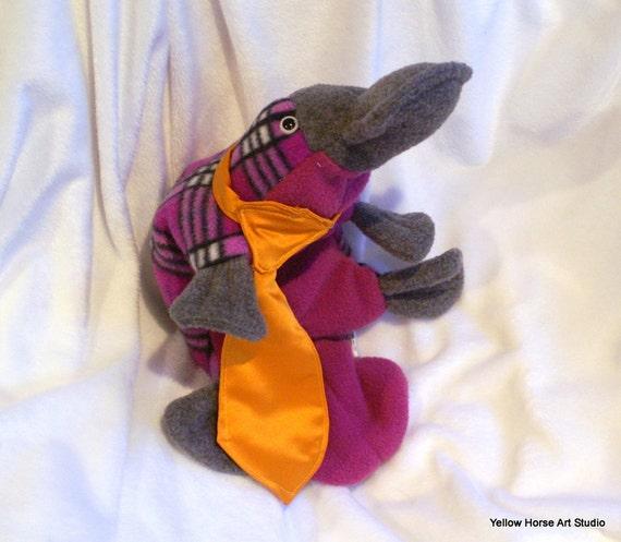 Platypus accessory -- golden orange tie